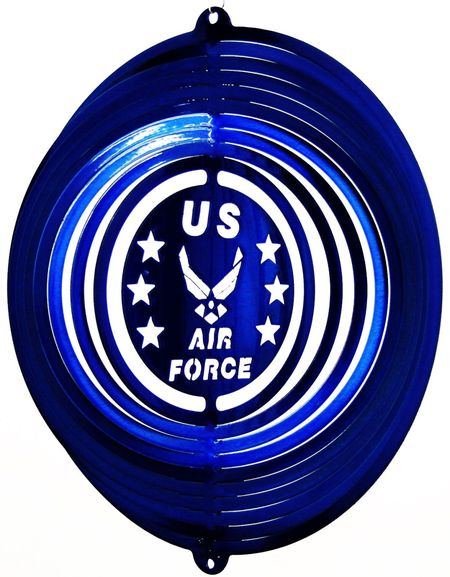 12 INCH AIR FORCE WIND SPINNER