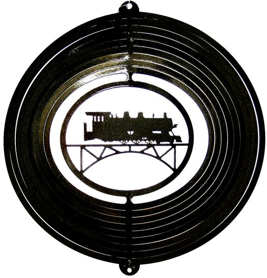 12 INCH LOCOMOTIVE WIND SPINNER