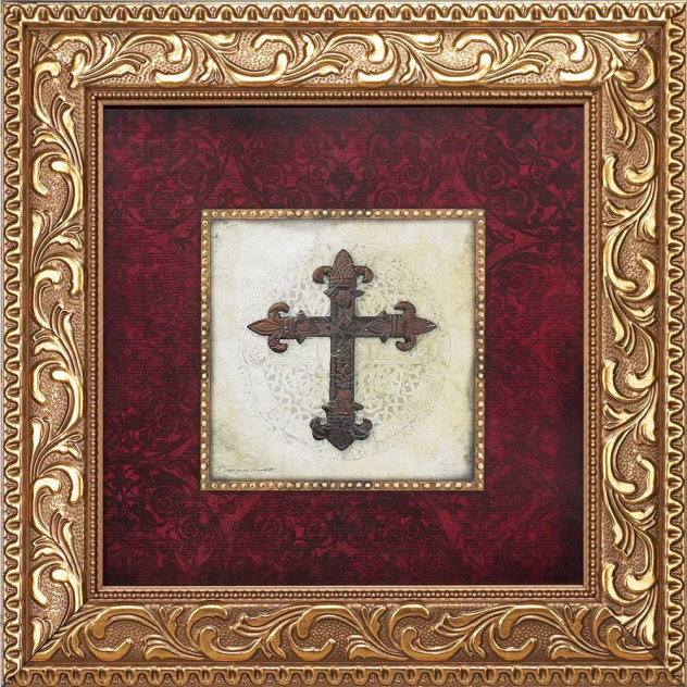 Framed Art With Cross