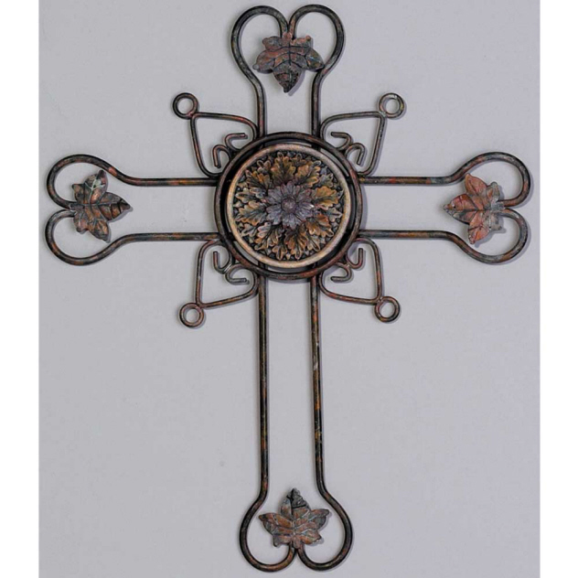 Wire Wall Cross