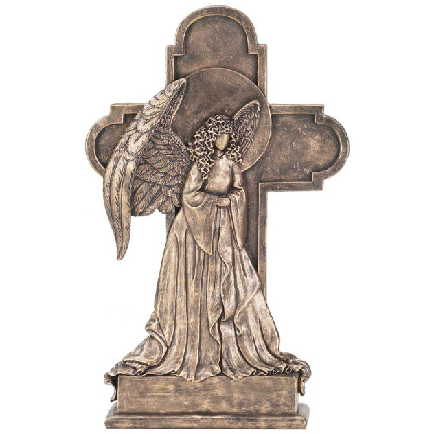 "CROSS TABLETOP RESIN 14""ANGEL"