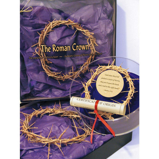 "7-8""ROMAN CROWN OF THORNS - Click Image to Close"