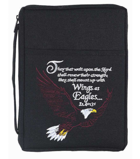 WINGS OF EAGLES BIBLE COVER
