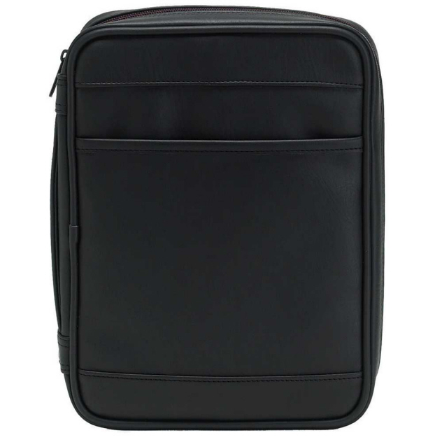 Black-Executive Nubuck Bible Cover