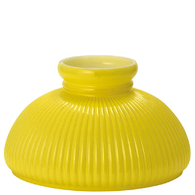 "10"" BRIGHT YELLOW WITH RIB PATTERN"