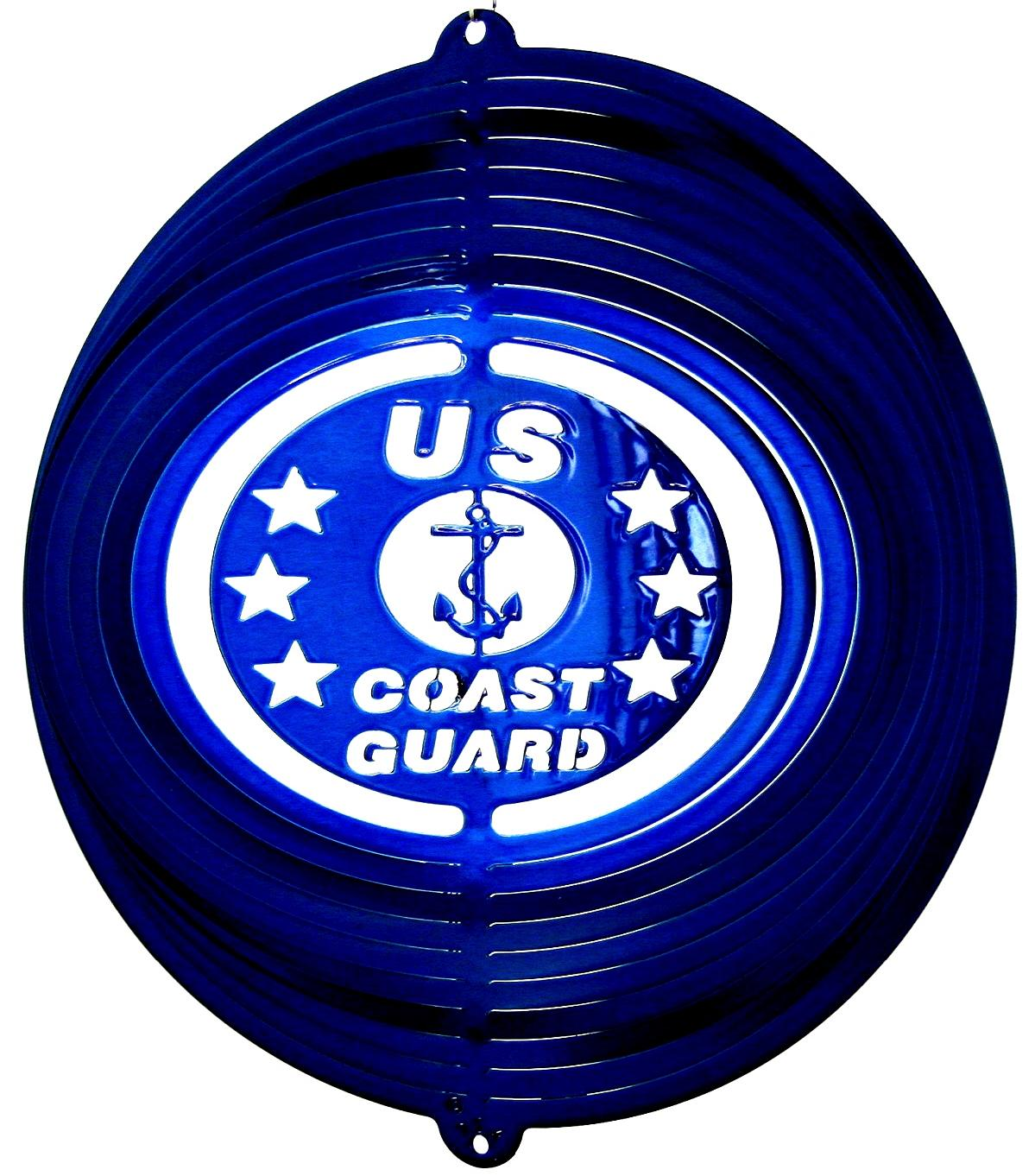 12 INCH COAST GUARD WIND SPINNER