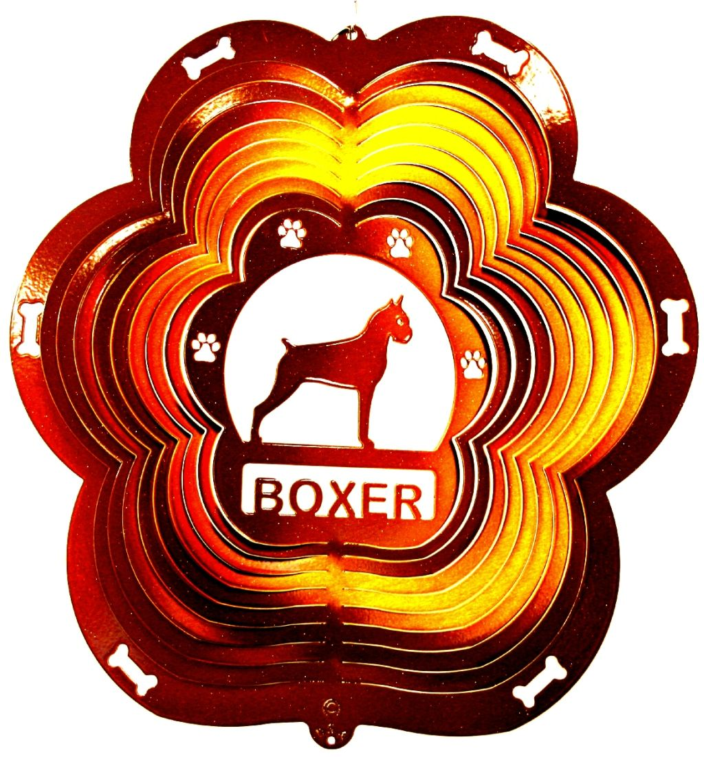 Boxer Wind Spinner