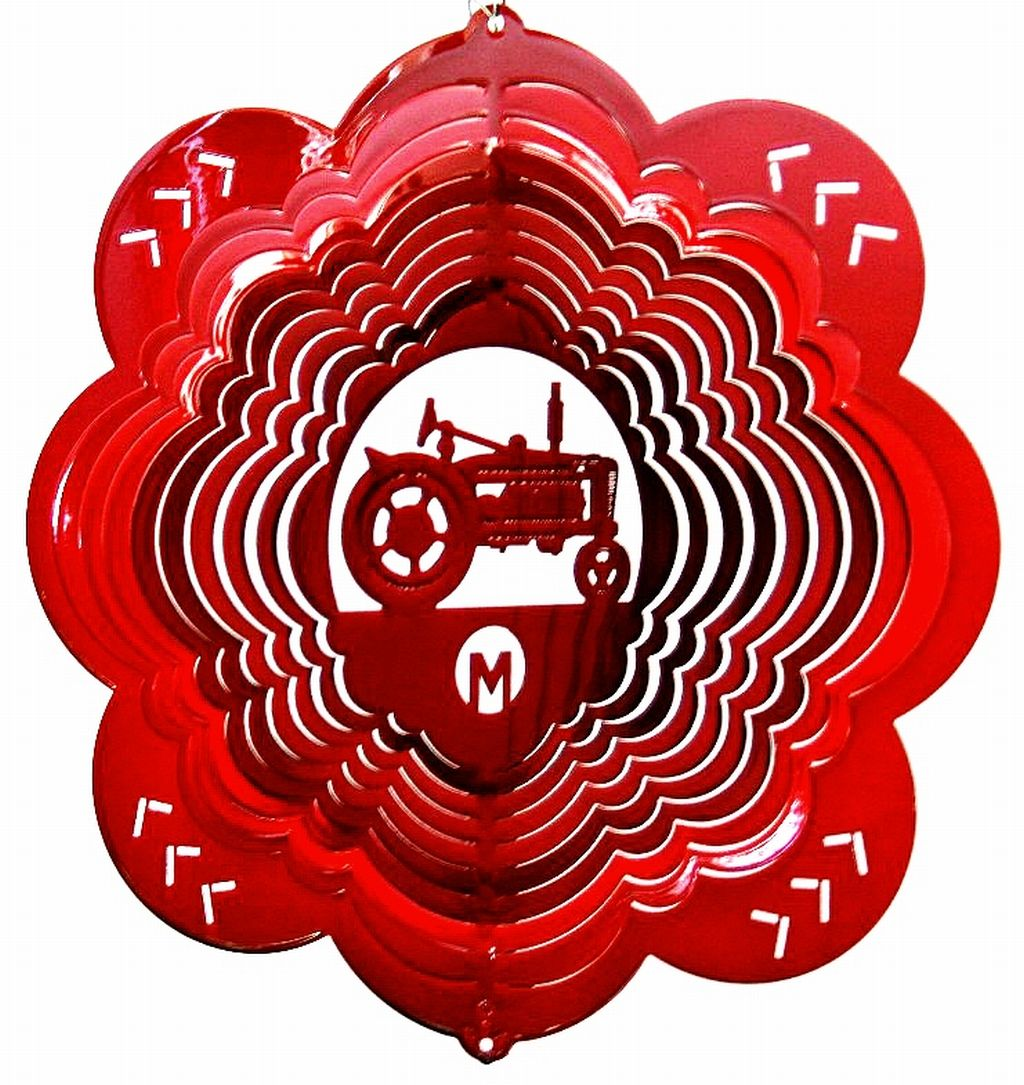 12 INCH TRACTOR M WIND SPINNER