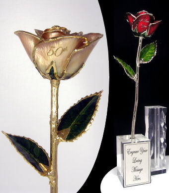 "The 11"" 50th Anniversary Rose"
